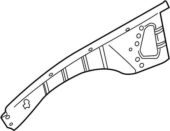 Chevrolet Caprice Fender Apron Reinforcement (Front, Rear