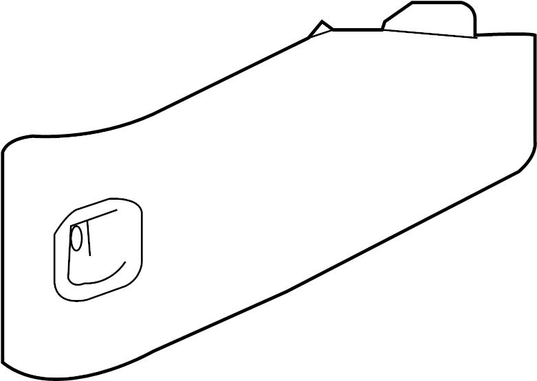 Chevrolet Caprice Access cover. DOOR. BODY COMPARTMENT