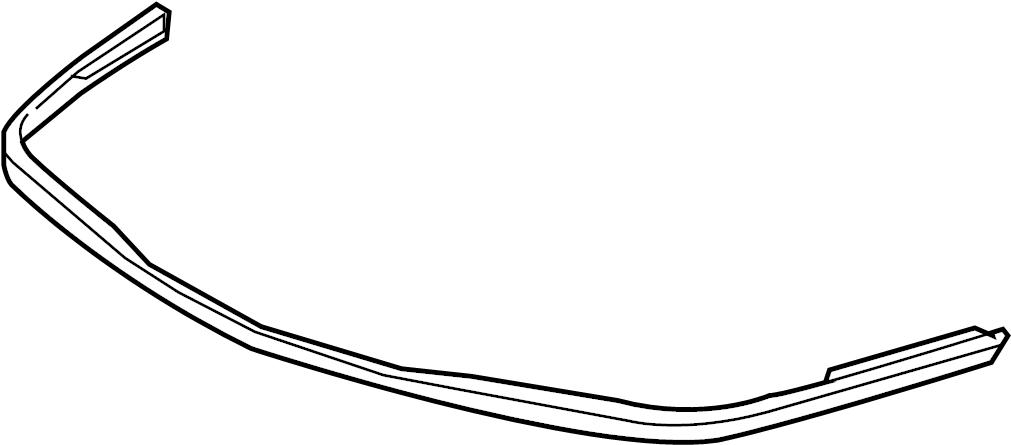 Chevrolet Impala Bumper Trim (Upper, Lower). W/IMPALA SS