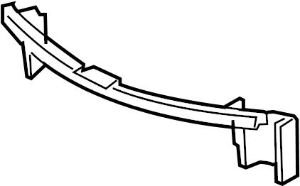 Chevrolet Impala Bumper Cover Support Rail (Upper, Lower