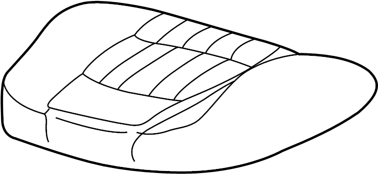 Chevrolet Impala Seat Cover. W/BUCKET SEATS W/LS
