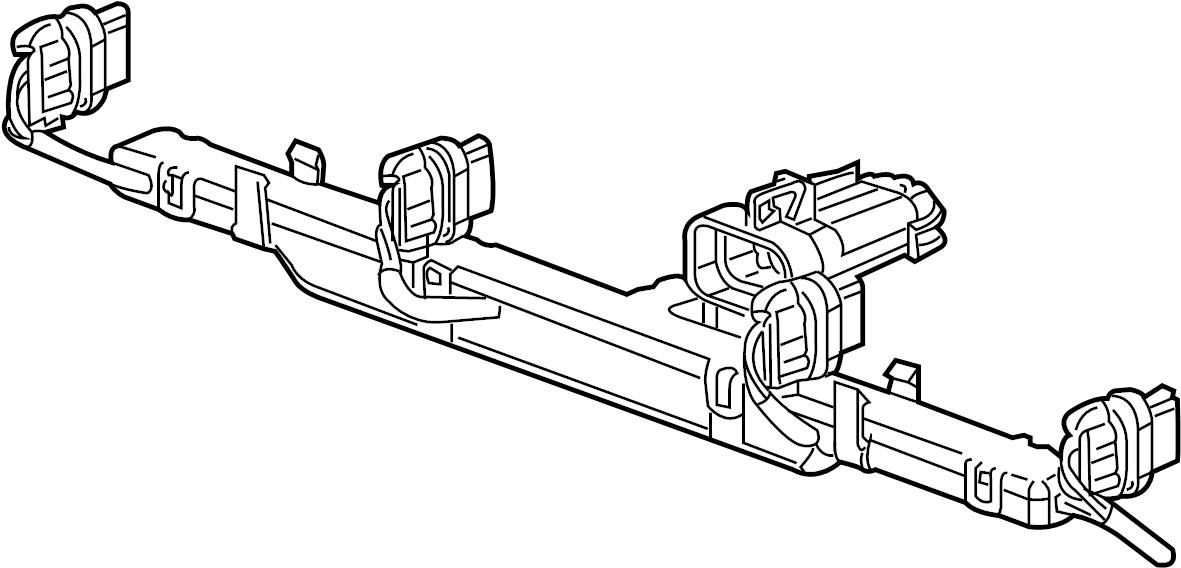 Chevrolet Impala Engine Wiring Harness. LITER, Wire, Plug
