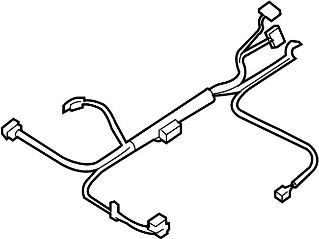 Chevrolet Impala Steering Column Wiring Harness. COLUMN