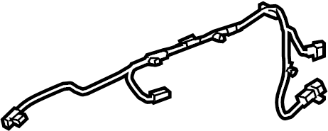 Chevrolet Impala Door Wiring Harness. All, w/premium audio