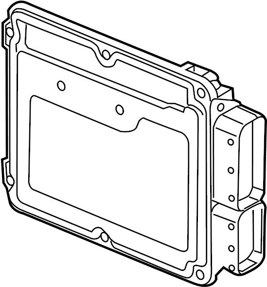 Chevrolet Cruze Engine Control Module. 2.0 LITER TURBO
