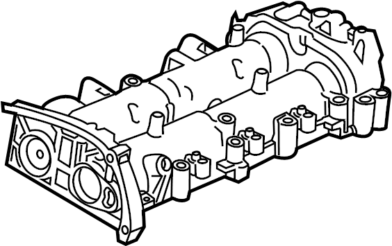 Chevrolet Cruze Engine Valve Cover. Housing. 2.0 LITER