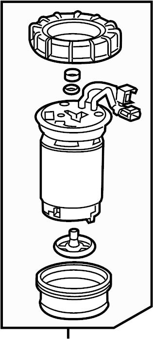 Chevrolet Cruze Diesel Exhaust Fluid (DEF) Pump. Cruze. W