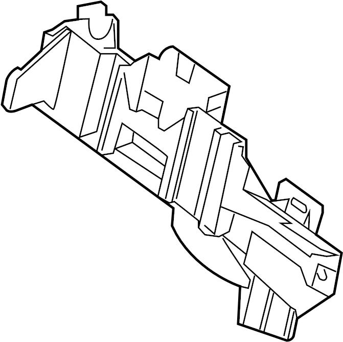 Chevrolet Cruze Engine Control Module Bracket. 1.4 LITER