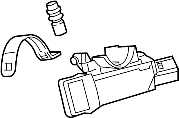 Chevrolet Cruze Ignition Lock Housing. Manual trans