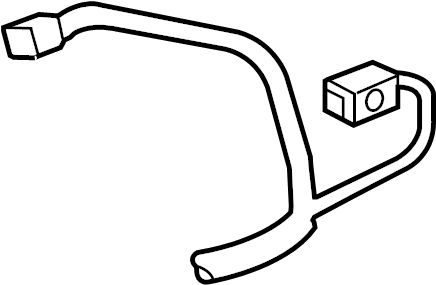 Chevrolet Camaro Headlight Wiring Harness. W/HID, 2010-13