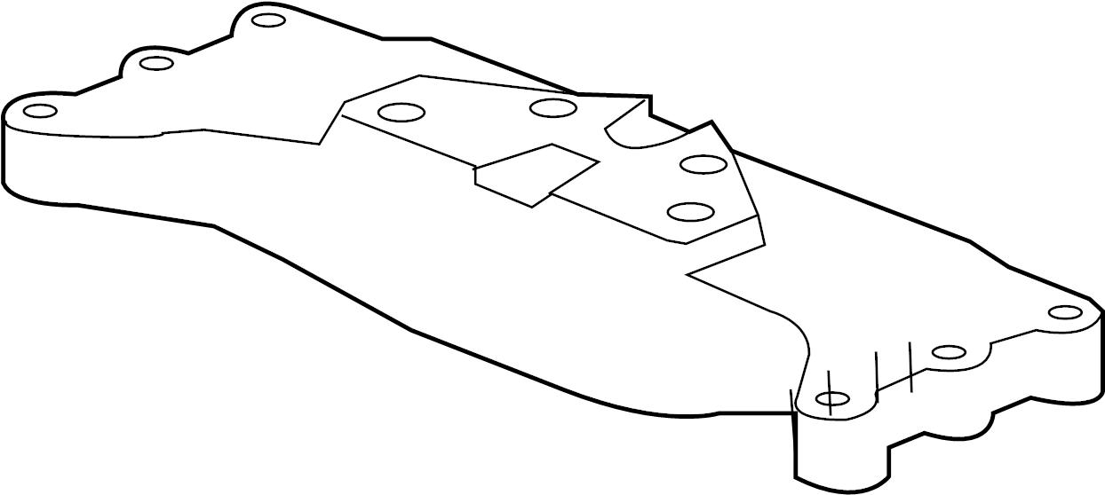 Chevrolet Camaro Transmission Crossmember. TRANSMISSION