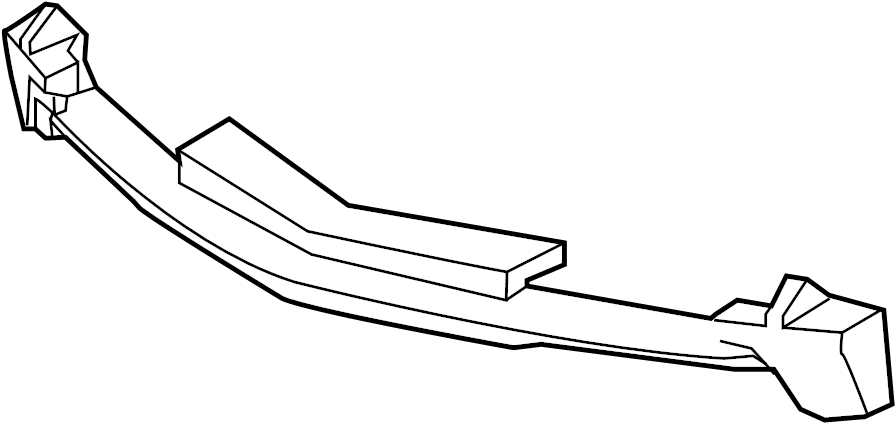 Chevrolet Camaro Bumper Impact Absorber (Front). 2016-18