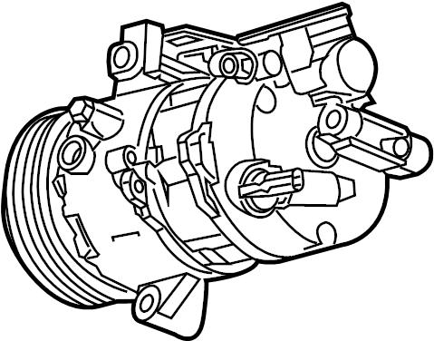 Chevrolet Camaro A/c compressor. Liter, repair, make