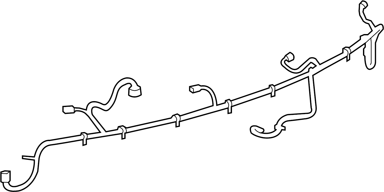 Chevrolet Camaro Parking Aid System Wiring Harness. W