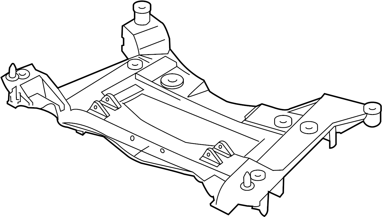 Chevrolet Corvette Engine Cradle. BASE & 427. Corvette