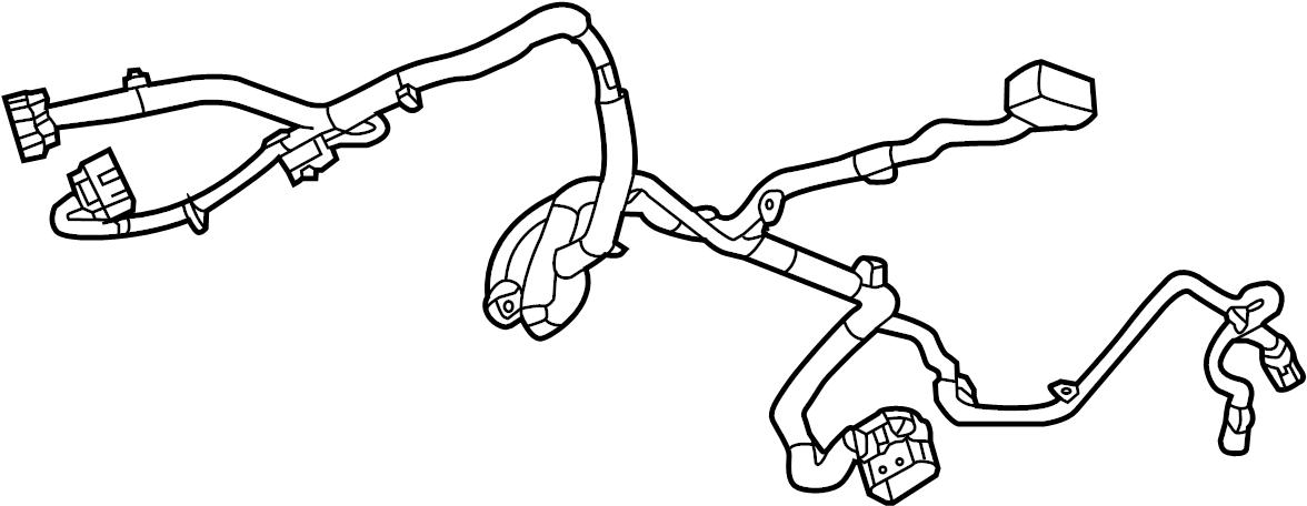 Chevrolet Corvette Fuel Pump Wiring Harness. FUEL TANK