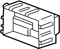 Chevrolet Impala Fuse. Relay. Box. A component that houses