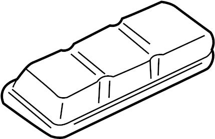 Pontiac Bonneville Engine Valve Cover. WSupercharger