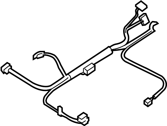 Chevrolet Impala Steering Column Wiring Harness. FLOOR