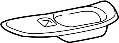 Chevrolet Monte Carlo Door Window Switch Bezel. LS and LT