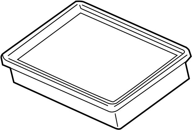 Chevrolet Sonic Air Filter. 1.4 LITER TURBO. 1.8 LITER