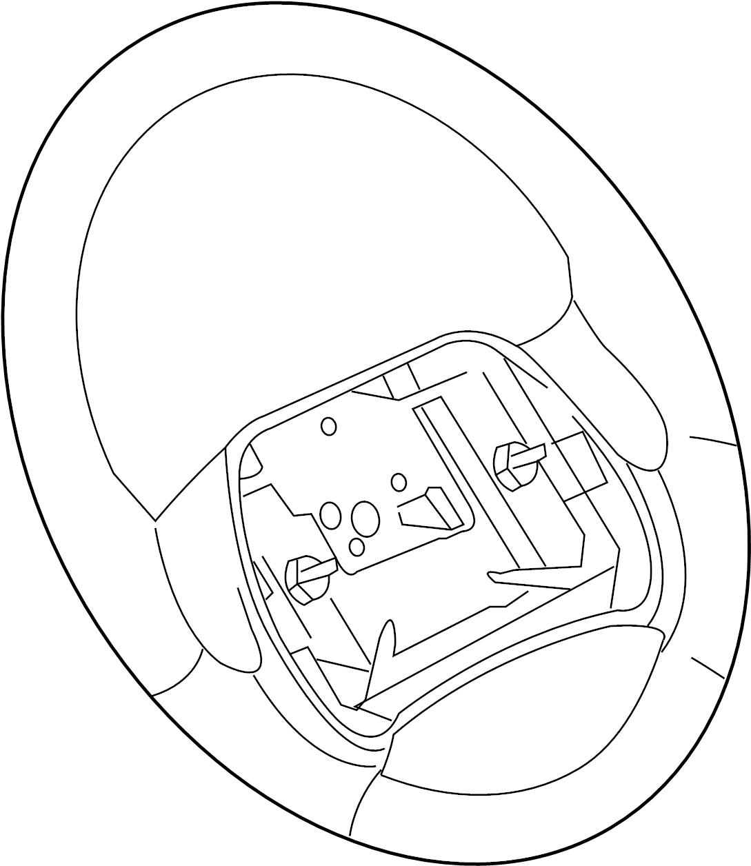 Chevrolet Cavalier Steering Wheel. Cavalier. Graphite