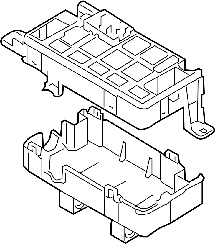Chevrolet Aveo5 Fuse and Relay Center. Fuse and Relay