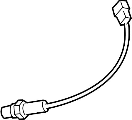 Chevrolet Aveo Oxygen Sensor (Front, Rear). Oxygen sensor