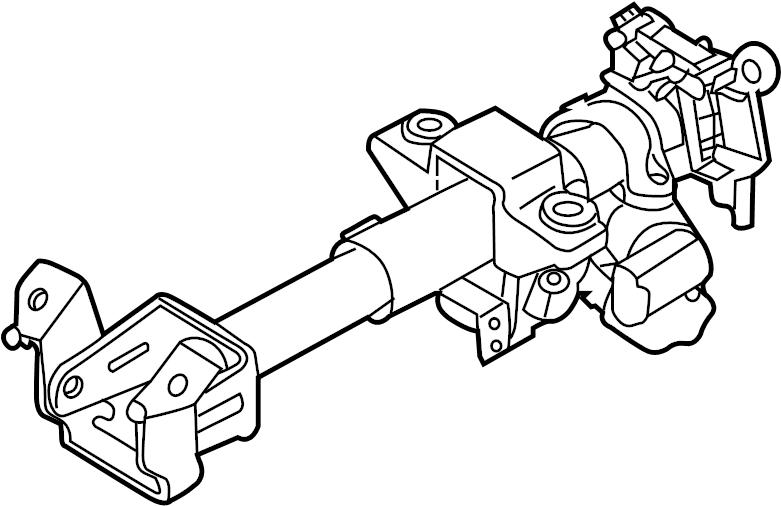 Chevrolet Aveo Steering Column. Trans, Shifter, Manual