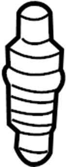 Chevrolet Aveo Spark Plug. SEDAN, 2007-08. SYSTEM, Motors