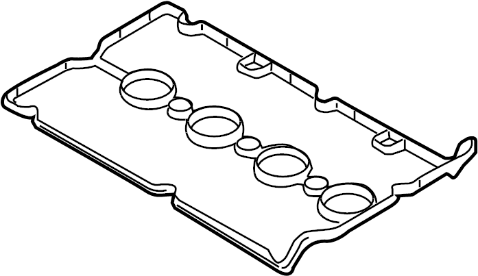 Chevrolet Sonic Engine Valve Cover Gasket. 1.8 LITER. 2009