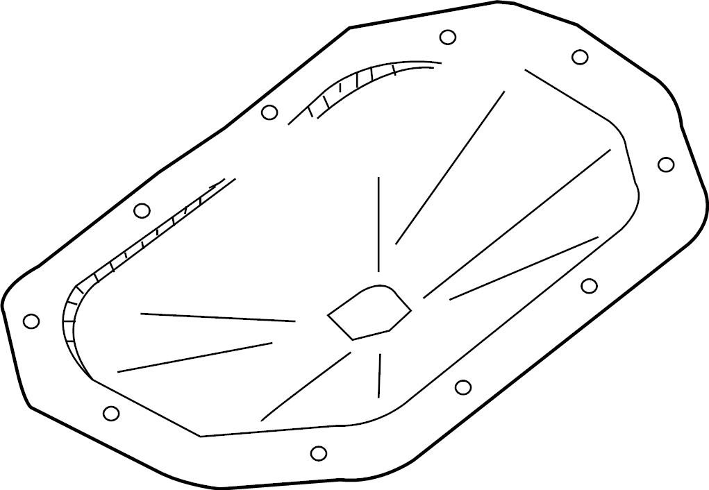 Chevrolet Aveo Cover. TRANSMISSION pan. MANUAL, 2nd design