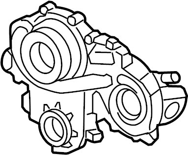 Chevrolet Malibu Engine Timing Cover. LITER, BEARINGS