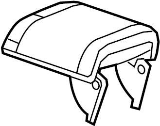 Chevrolet Malibu Console Armrest. LT, LTZ, ECO, 2013