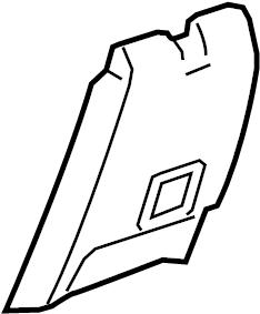 Chevrolet Malibu Console Trim Panel. LT, LTZ, ECO, 2013, w