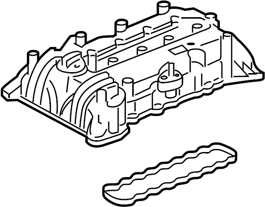Chevrolet Malibu Engine Valve Cover. 1.8 LITER. Malibu