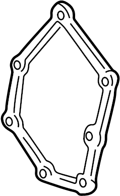 Pontiac Grand Am Engine Timing Cover Gasket (Front). 2.4