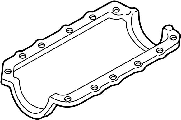 Pontiac Grand Prix Engine Oil Pan Gasket. Gasket. Oil. Pan