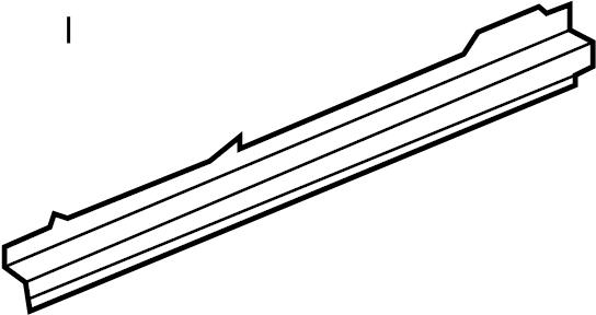 Chevrolet Malibu Rocker Panel Reinforcement (Front, Rear
