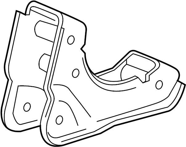 Chevrolet Spark Manual Transmission Mount Bracket (Rear