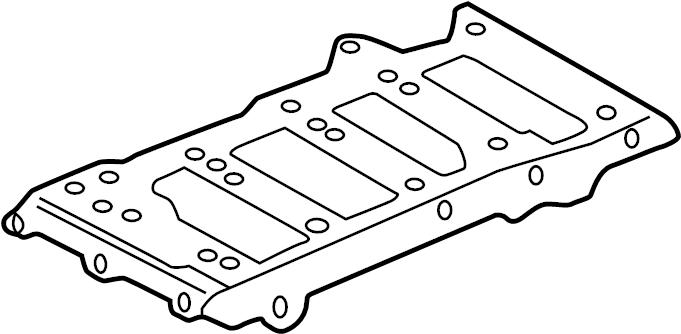 Cadillac Deville Engine Intake Manifold. 4.0 LITER. 4.6