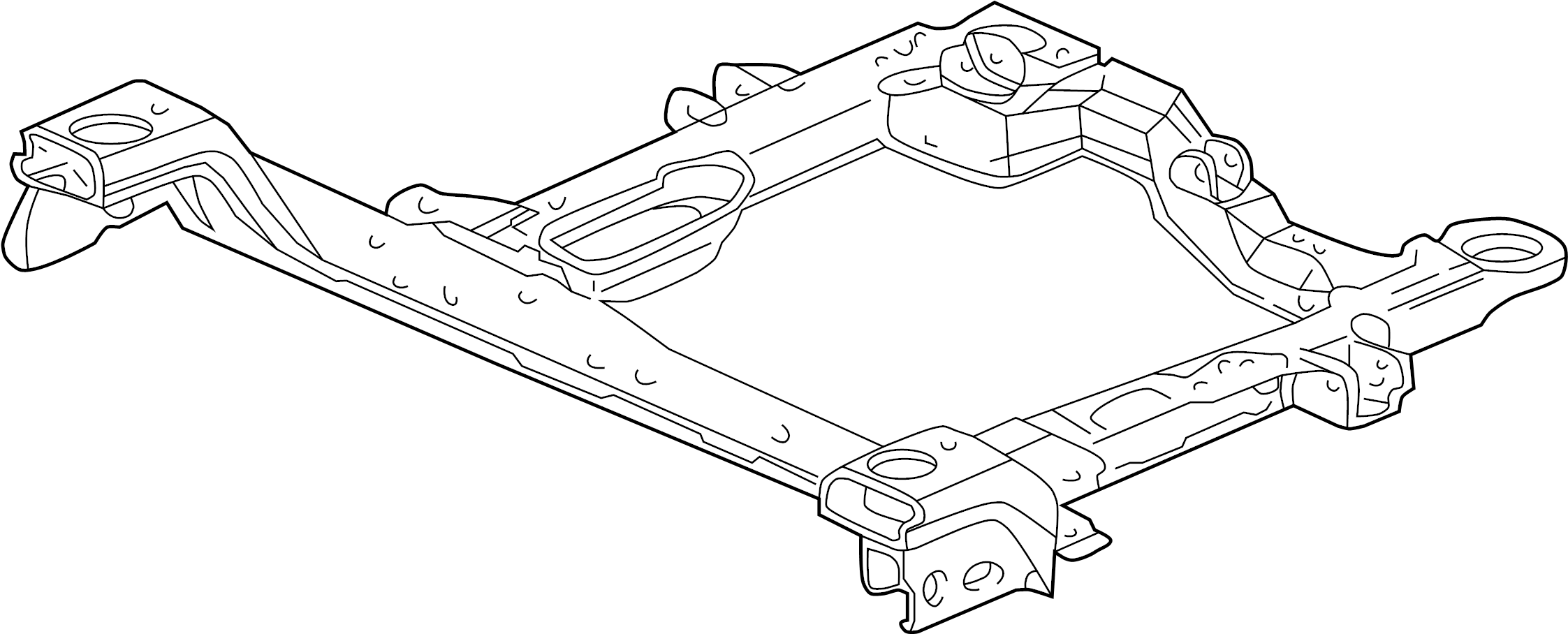 Pontiac Grand Prix Engine Cradle (Front). 3.8 & 3.6 liter