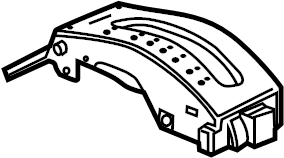 Pontiac Grand Prix Automatic Transmission Shift Indicator