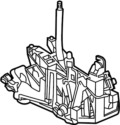 Pontiac Grand Prix Automatic Transmission Shift Lever