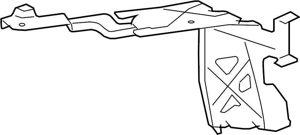 Pontiac Solstice Bracket. Engine Wiring Harness GND