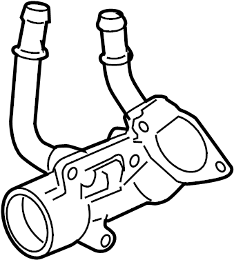 Pontiac Solstice Engine Coolant Thermostat Housing