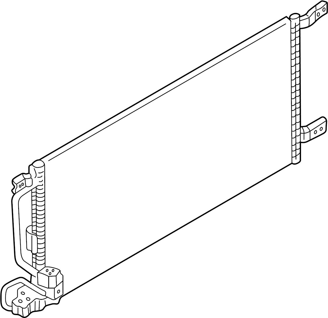 Chevrolet Venture A/c condenser. Condenser, air