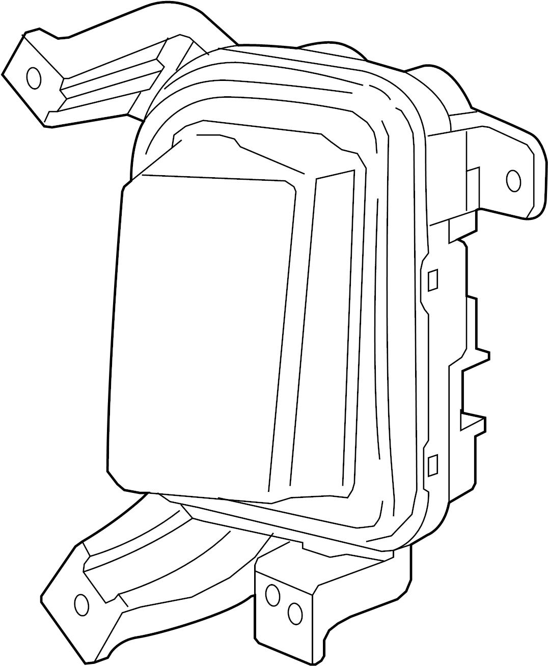Gmc Terrain Daytime Running Light Front Lamp Right