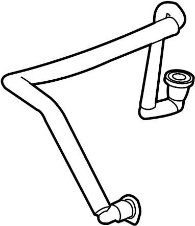 Chevrolet Equinox Tube. Vacuum. 2.4 LITER. Equinox