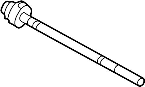 Pontiac Bonneville Steering Tie Rod End. GEAR, PUMP